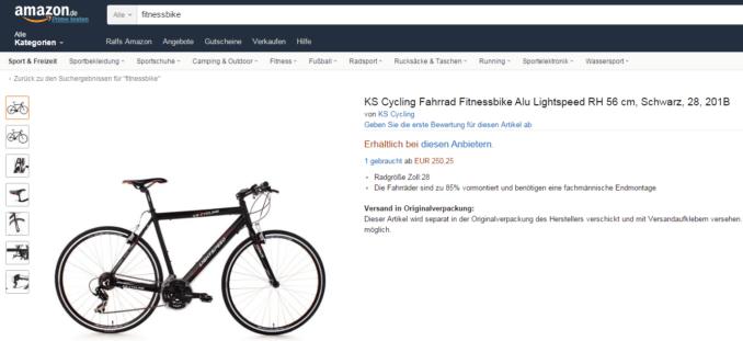 fitnessbike gebraucht kaufen oder doch lieber neu. Black Bedroom Furniture Sets. Home Design Ideas