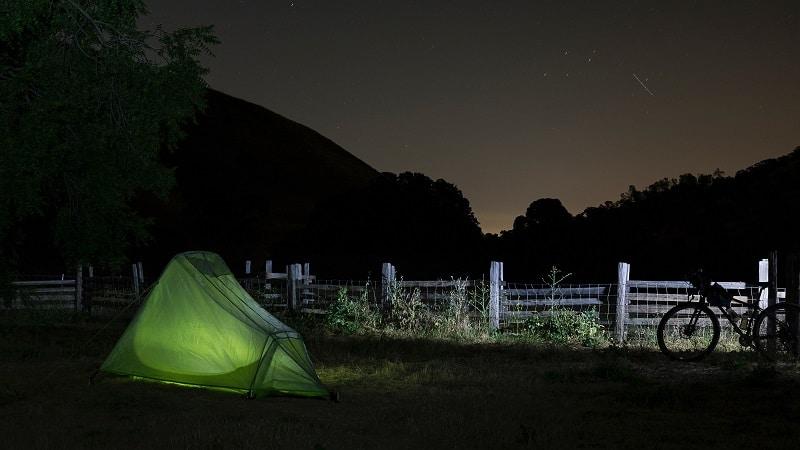 Bikepacking Packliste Camping
