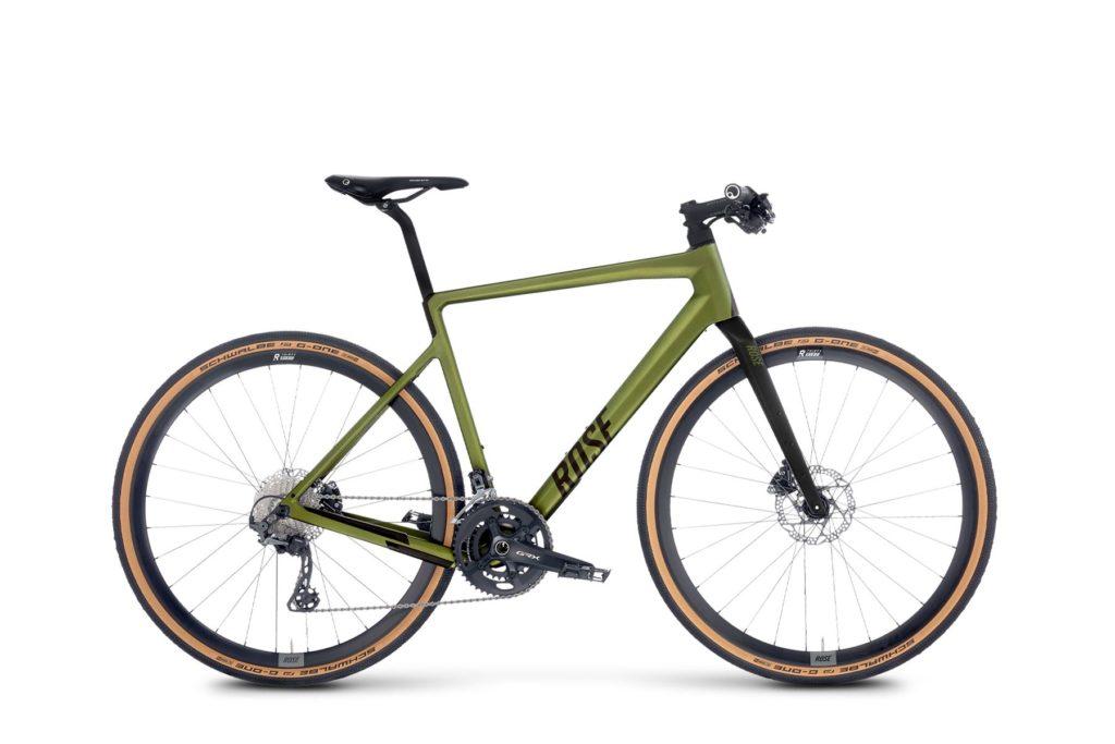 Carbon Fitnessbike