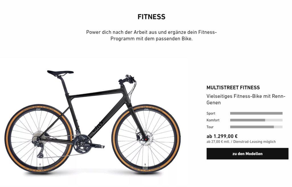 ROSE Fitnessbikes - Abnehmen durch Fahrradfahren