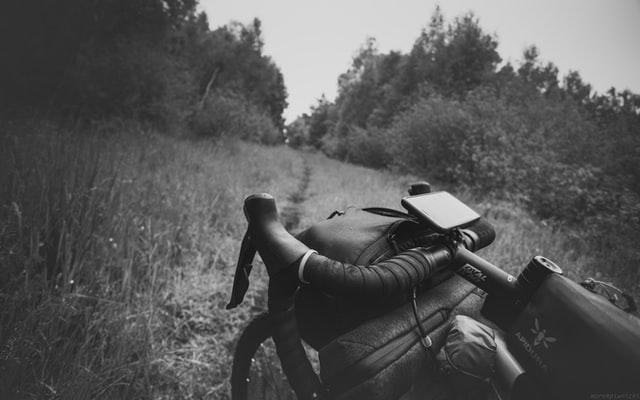 Fahrradtaschen am Lenker